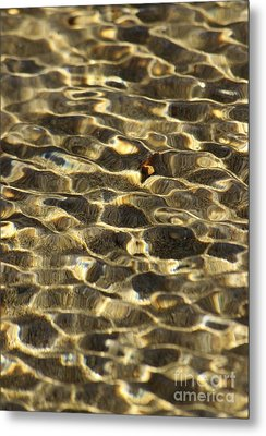 Beach Abstract 12 Metal Print