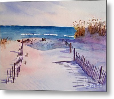 Beach Afternoon Metal Print