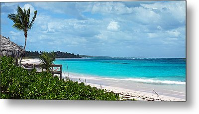 Beach At Tippy's Metal Print