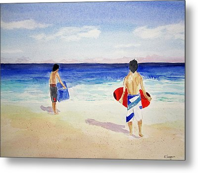 Beach Boys Australia Metal Print