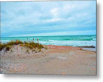 Metal Print featuring the photograph Beach Breeze by Amanda Vouglas