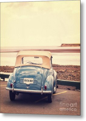 Beach Bum Metal Print by Edward Fielding