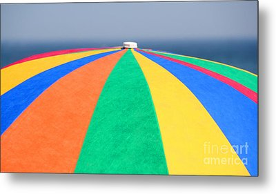 Beach Day Metal Print by Adrian LaRoque