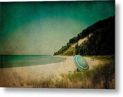 Beach Day Metal Print by Olivia StClaire