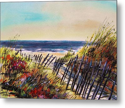Beach Entry Metal Print by John Williams
