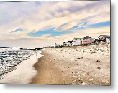 Beach Haven Metal Print by Diana Angstadt