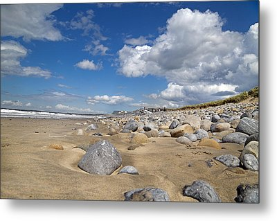 Beach -- Sligo -- Ireland Metal Print