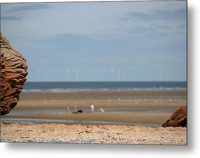 Beach Metal Print by Spikey Mouse Photography