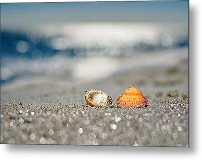 Beach Lovers Metal Print by Laura Fasulo