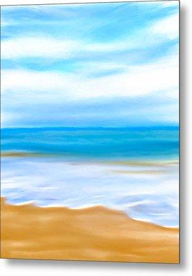 Beach Memories Metal Print