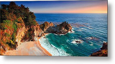 Beach Of Julia Metal Print by Emmanuel Panagiotakis