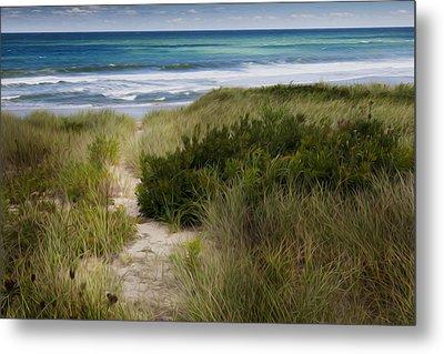 Beach Path Metal Print by Bill Wakeley