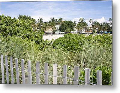Metal Print featuring the photograph Beach Path by Laurie Perry