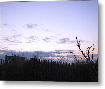 Metal Print featuring the photograph Beach Sunrise 2 by Melissa Stoudt