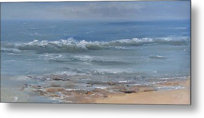 Beach Time Metal Print by Mar Evers