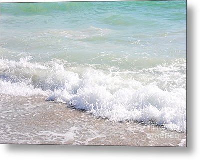 Metal Print featuring the photograph Surf And Sand by Margie Amberge