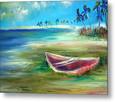 Beached Metal Print by Patricia Taylor