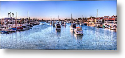Beacon Bay Metal Print by Jim Carrell