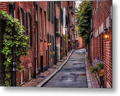Beacon Hill Boston Metal Print
