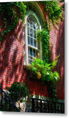 Beacon Hill Window Series Metal Print