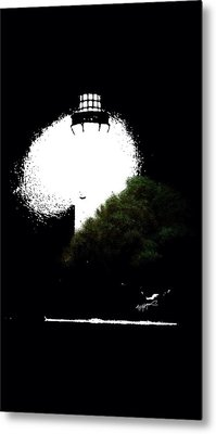 Metal Print featuring the digital art Beacon Of Light by Anthony Fishburne