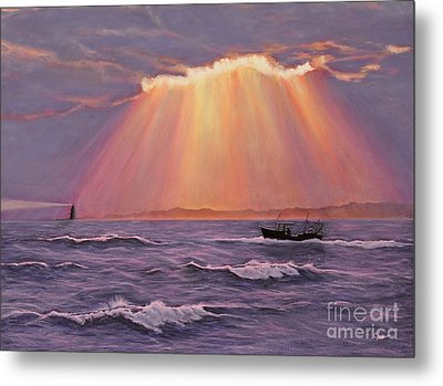 Beacons Of Light Metal Print
