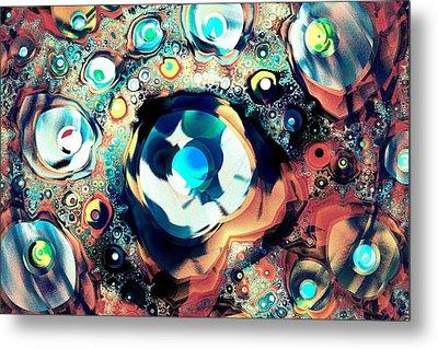 Beads Metal Print by Anastasiya Malakhova