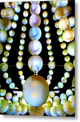 Beads Metal Print by Randall Weidner