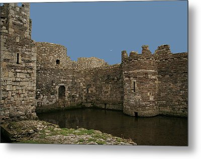 Metal Print featuring the photograph Beamaris Castle by Christopher Rowlands