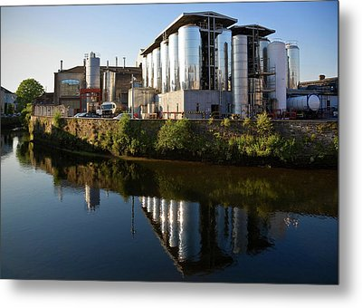 Beamish & Crawford Brewery, River Lee Metal Print