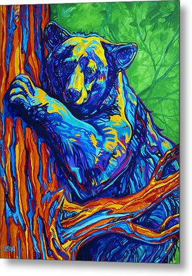 Bear Hug Metal Print by Derrick Higgins