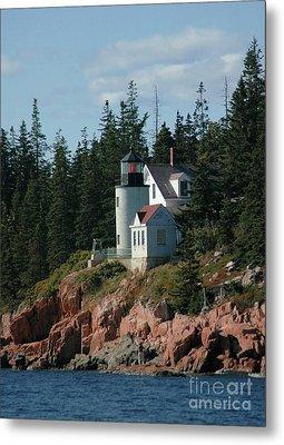 Bear Island Lighthouse Metal Print by Kathleen Struckle