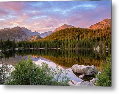 Bear Lake Sunrise Metal Print by Adam Pender