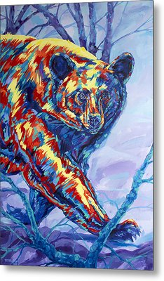 Bear Walk Metal Print