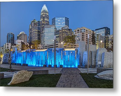 Bearden Blue Metal Print