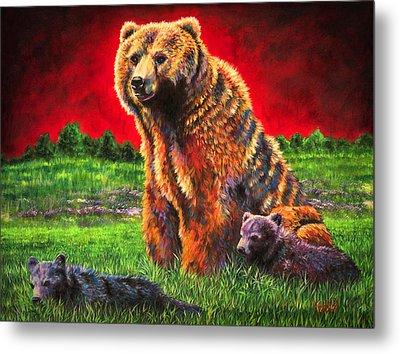 Beargrass Metal Print by Teshia Art