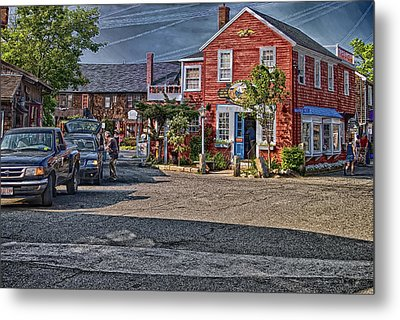 Bearskin Neck Metal Print by Mark Myhaver