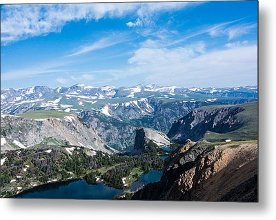 Beartooth Long Range Views Metal Print