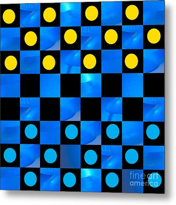 Beat The Blues Metal Print by Lena Wilhite