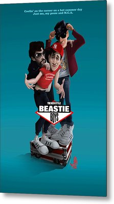Beatie Boys_the New Style 2 Metal Print