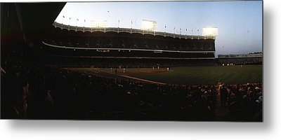 Yankee Stadium Metal Print by Retro Images Archive