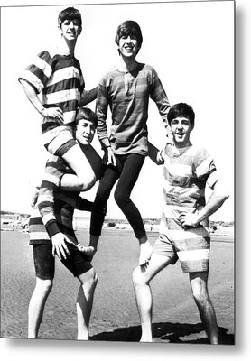 Beatle Beach Metal Print by Retro Images Archive
