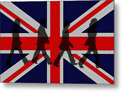 Beatles Abbey Road  Metal Print by Bill Cannon