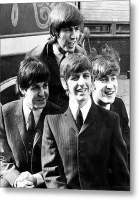Beatles Metal Print by Retro Images Archive
