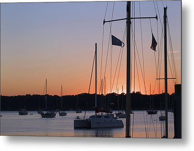 Beaufort Sc Sunset Metal Print