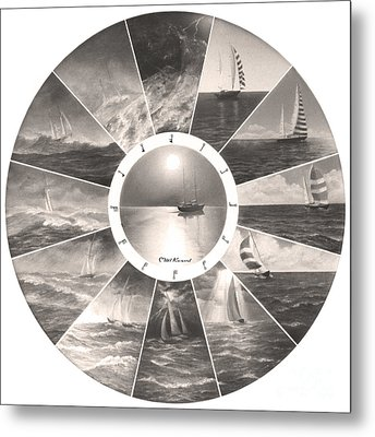 Beaufort Scale Metal Print
