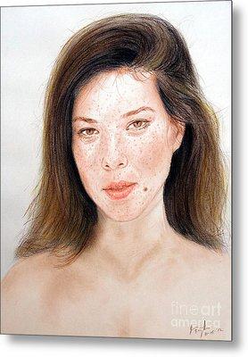 Beautiful Actress Jeananne Goossen Metal Print