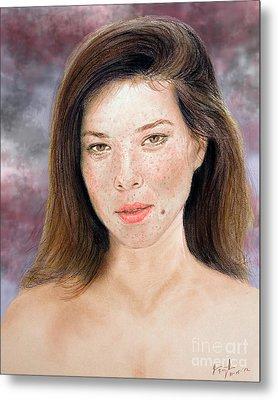 Beautiful Actress Jeananne Goossen Updated Version Metal Print
