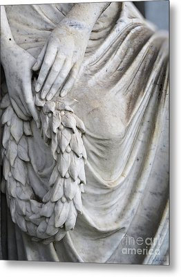 Beautiful Angel Healing Touch Metal Print