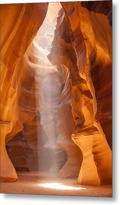Beautiful Antelope Canyon Metal Print by Melanie Viola